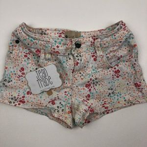 Girl's Roxy Floral Jean Shorts